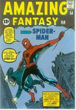 Marvel Comics Postcard: Amazing Fantasy # 15 cover (Steve Ditko) (USA, 1991)