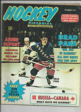 HOCKEY PICTORIAL  Magazine, December 1972  Vol. 18 No. 2
