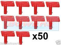 50x BATTERY 100AMP CUT OFF/KILL/ISOLATOR SWITCH SPARE KEYS CAR/BOAT/RALLY/MARINE