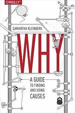 Why by Samantha Kleinberg (2015, Paperback)
