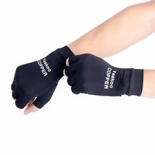 Pair Copper Compression Arthritis Recovery Gloves,Good Support For Hands -Size M
