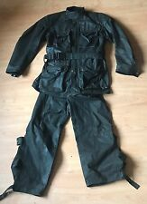Very Rare Vintage Belstaff Trialmaster Pro Wax Suit L Jacket and Trousers