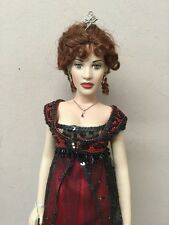 "Mint- 16"" Rose Official Titanic Vinyl Portrait Doll Franklin Mint"