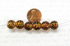 Antique Venetian Lamp Trade Bead Reproductions  # 1482  1/2 OFF Double Pack