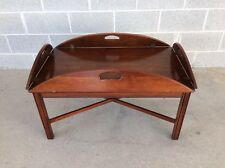 STATTON SOLID CHERRY ANTIQUE BUTLER TABLE COFFEE/COCKTAIL TABLE