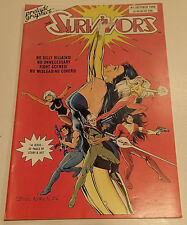 THE SURVIVORS Vol. 1 Issue #1 Prelude Graphics 1986 Steve Woron