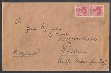 Germany, 1910 SMS Schlesien MSP57 Cover VF