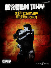 21st Century Breakdown Green Day Punk Rock Piano Voz Guitarra Faber música Libro