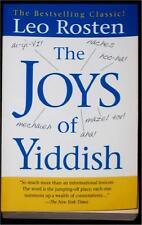 THE JOYS OF YIDDISH ~ LEO ROSTEN ~ SC ~ BESTSELLING CLASSIC