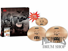 "Meinl MCS Crash Pack Box Set + Free 10"" MCS Splash Cymbal"