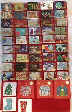 STARBUCKS CHRISTMAS 2016 LIMITED EDITION 51 TOTAL GIFT CARD SET