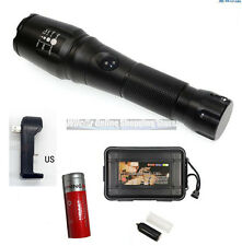 New Tactical Military Grade LED Flashlight 2500 Lumens 2000x Zoom TC1200 Style