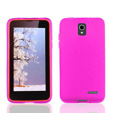 NEW FOR Alcatel One touch Pop Star A845L Pink 1-PC SOFT GEL SKIN COVER CASE