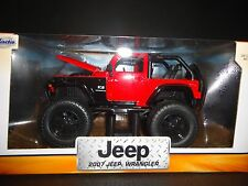 Jada Jeep Wrangler 2007 Off Road Red 1/24
