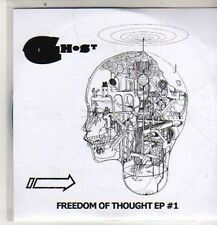 (DB635) Ghost, Freedom Of Thought EP #1 - 2009 DJ CD