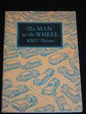 "Antique c1926 ""THE MAN AT THE WHEEL, 100% Driver"" Automobile Safety Book"