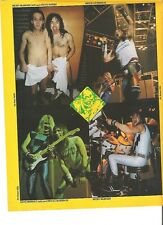 IRON MAIDEN Nicko and Steve in towels  magazine PHOTO / mini Poster 11x8""