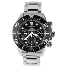 Seiko Men SOLAR V175 200M Sport Watch (No Box) SSC015 SSC015P1