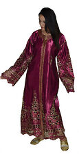 Wedding Gown Caftan Kaftan DressTackchita Abaya Moroccan Middle East Takchita