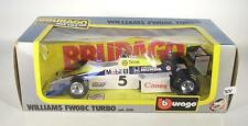 Bburago 1/24 Williams FW08C Turbo Formel 1 OVP #3631