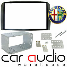 Alfa Romeo 147 2005 -13 Car Stereo Double DIN Dark Grey Facia Cage Kit CT23AR03A