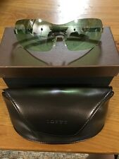 LOEWE sunglasses SLW 013 Col 579 Green Lens Cool Shades