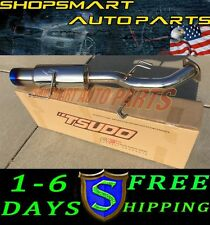 TSUDO AXLE BACK EXHAUST BURN TIP FOR 2012 2013 2014 2015 MITSUBISHI LANCER FWD