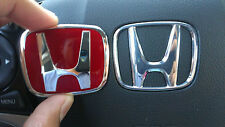 honda jdm red steering wheel emblem type B civic si s2000