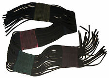 Green 3 Apparel String Panel Scarf 960-27 Made in USA from reclaimed materials