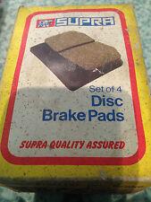 FORD SIERRA Mk1  1982 to 1987 FRONT BRAKE PADS by Supra GBP654 Ferodo FDB275