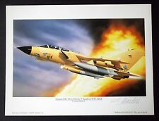 Aviation Art print - Panavia TORNADO GR 1  Gulf War  Signed Limited Edition