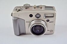 Canon PowerShot G2 Digital Point & Shoot Style Camera in Metallic silver