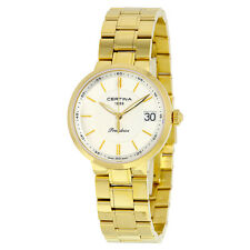 Certina DS Stella Quartz Mother of Pearl Dial Gold-tone Ladies Watch
