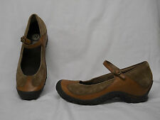 Merrell Shoe PLAZA Mary Jane Brown  10  Excellent