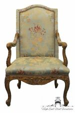 THOMASVILLE Formal Louis XVI French Style Upholstered Accent Chair