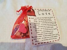 Little Bag of Love - Novelty Gift for friend or Loved One this Valentines Day