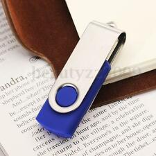 Swivel Blue 64GB USB 2.0 Flash Memory Stick Thumb Drive U Disk Key Sticik