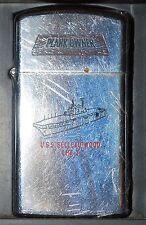 ZIPPO Us Navy USS BELLAU WOOD LHA 3 - USED 1986