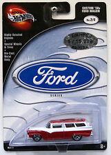 HOT WHEELS Ford! SERIE 2/4 Custom anni Cinquanta CARRO FORD! NUOVO! American Hot Rod