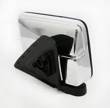Door/Wing Mirror Chrome R/H O/S For Mitsubishi L200 K74 2.5TD (Upto  1997)