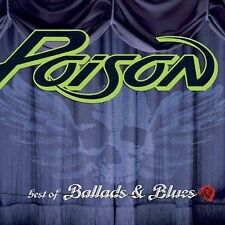 FREE US SH (int'l sh=$0-$3) NEW CD Poison: Best of Ballads & Blues Extra tracks