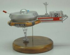 Thunderbird-5 Anderson UFO Spacecraft Dried Wood Model Small New