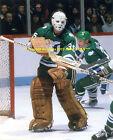 JOHN GARRETT In ACTION In NET 8x10 Photo HARTFORD WHALERS Star GOALIE 1979-82~@@