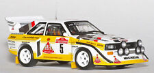 1/10 1985 1986 Audi Sport Quattro S1 RC Body with wings decal for Tamiya F103 F1