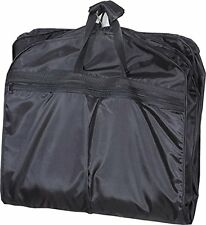 Folding Waterproof Suit/Dress Garment Storage Carry Bag Cover For Travel Black