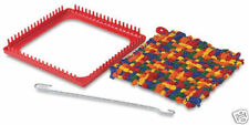 SALE!  POTHOLDER LOOM! KIDS CRAFT! EASY WEAVING WITH LOOPS~GREAT FOR SENIORS TOO