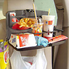 New Premium Car Travel DiningTray Meal Tray Food Cup Holder Foldable Portable