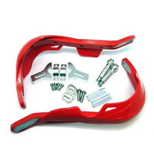 RED Aluminium & Plastic Hand Guards for Honda Motocross Enduro Trials Bikes