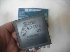 A GENUINE AUDI A3 A4 A6 INTERMITTENT FRONT WINDSCREEN WINDOW WIPER RELAY 377