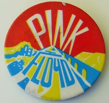 PINK FLOYD LARGE OLD METAL PIN BADGE FROM THE 1970's RETRO VINTAGE ANIMALS
